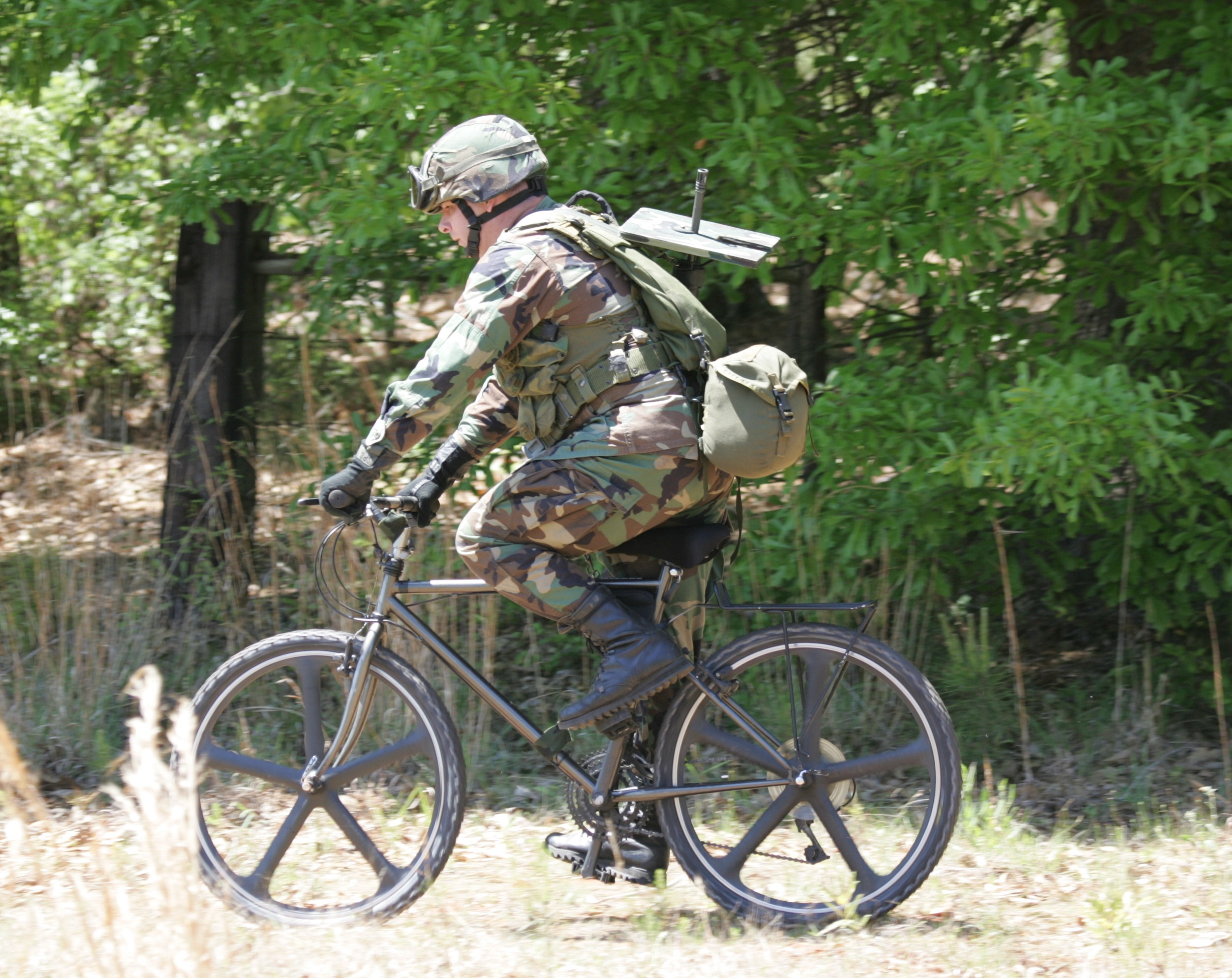 A career for triathletes youngtri a us special forces soldier tests an atb photo credit hans halberstadt via combatreform malvernweather Images