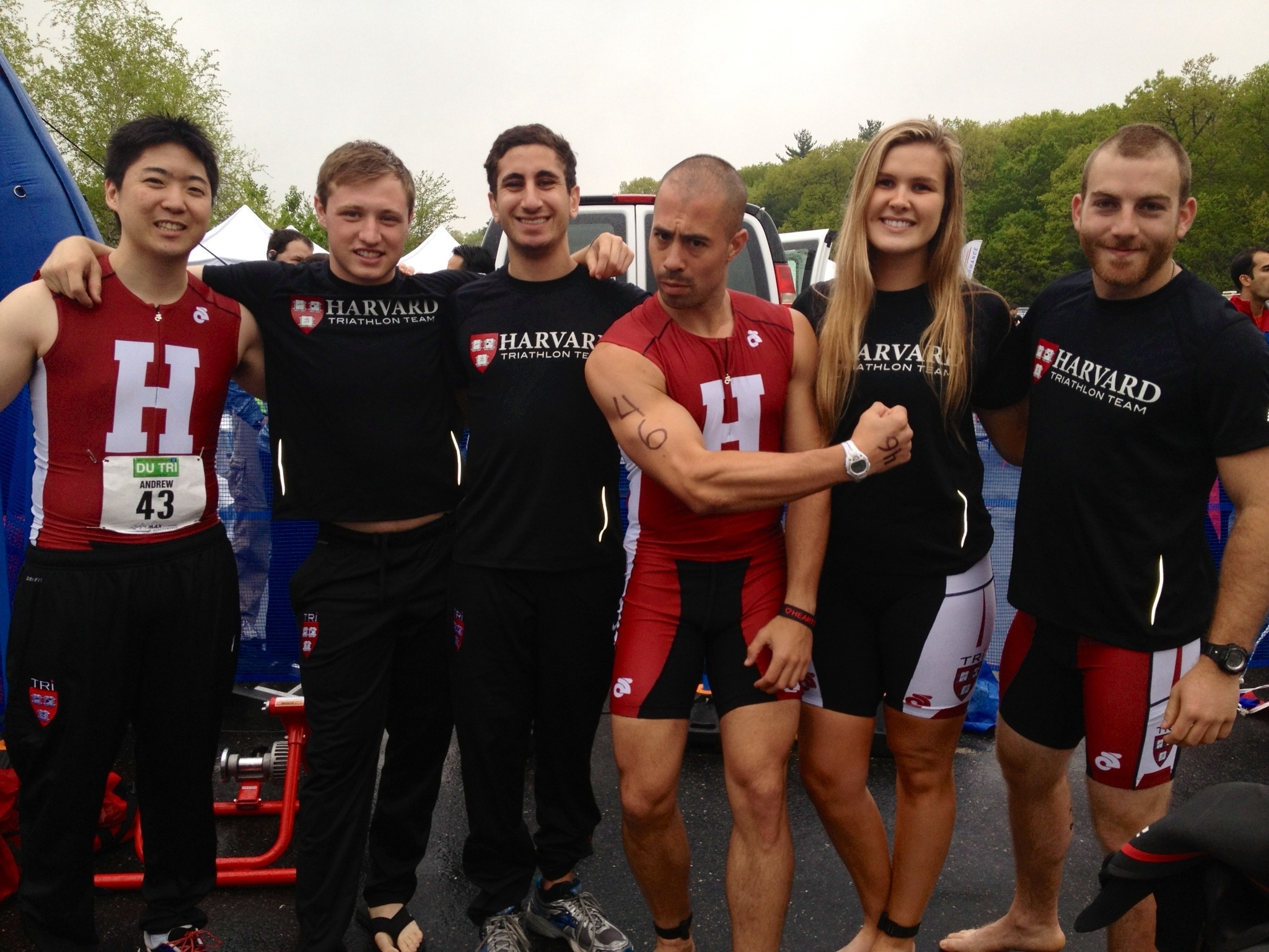 Harvard Tri: Our First Race!