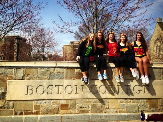 Photo from freshman year - excited to be back at BC this year as a sophomore!