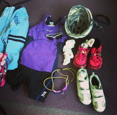 packing for the race!