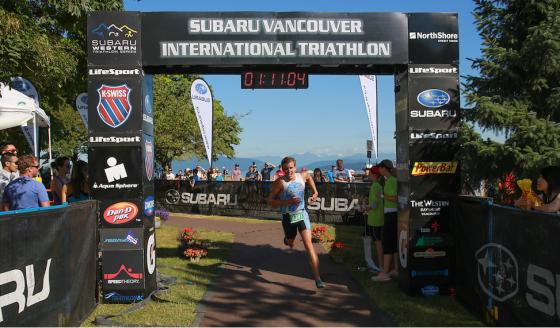 Vancouver Subaru Finish line