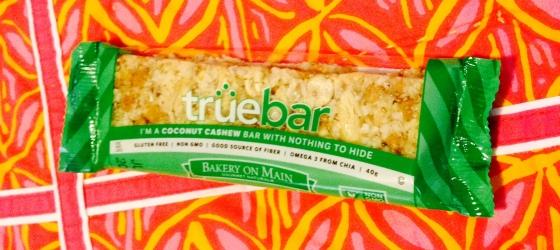 My favorite flavor truebar - coconut cashew!