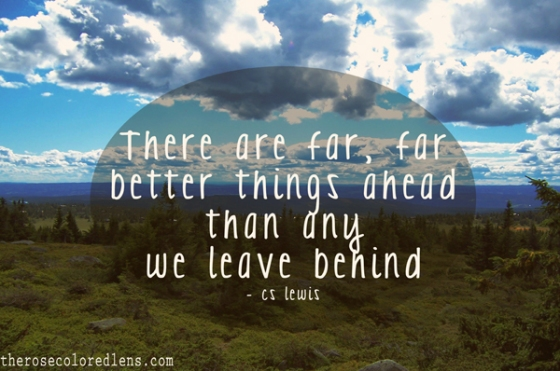 There are better things ahead after any injury :)