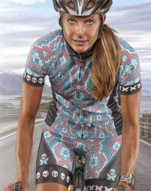 Betty Designs founder, Kristin Mayer, is a triathlete herself!