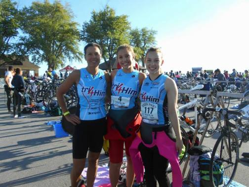 At the Sodus Point Tri!
