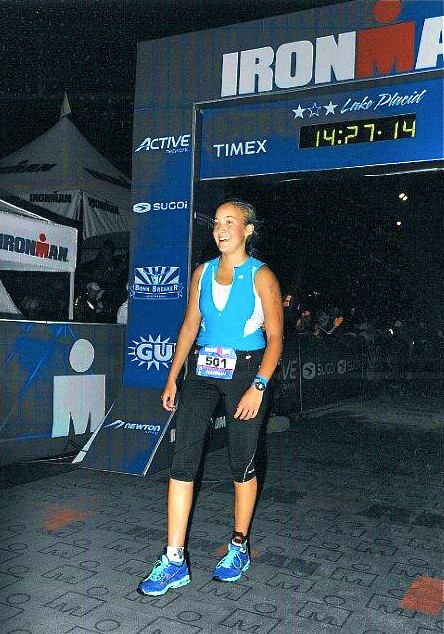 After finishing Ironman!