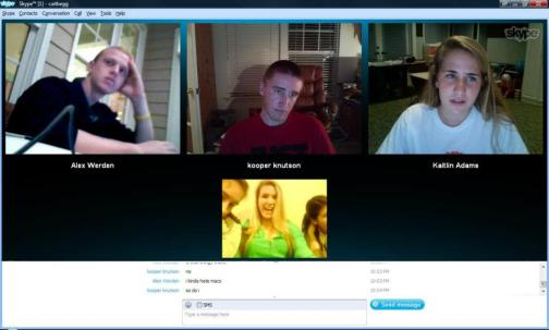 Group skyping for ideas back in 2011!