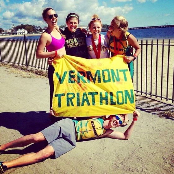 UVM Tri Team at Westchester!