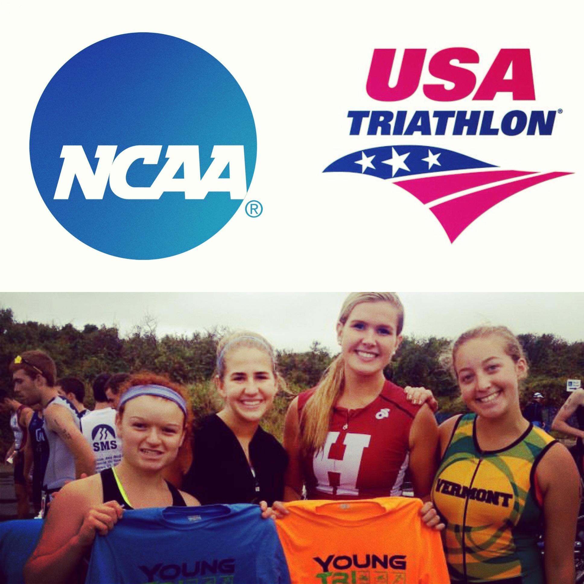 Women's Triathlon = Officially a NCAA Division 1 Emerging